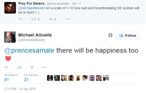 Michael Allowitz tweet