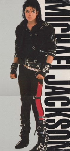 Michael Jackson fond d'écran titled Michael Jackson - HQ Scan - Bad Album Cover Photoshoot