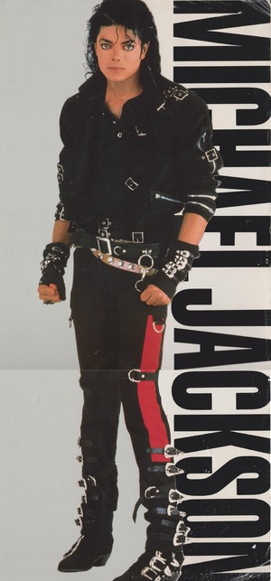 Michael Jackson - HQ Scan - Bad Album Cover Photoshoot
