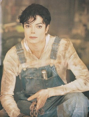 Michael Jackson - HQ Scan - Jonathan Exley Shoot 1995