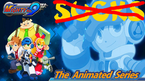 Megaman দেওয়ালপত্র with জীবন্ত entitled Mighty No. 9 The Animated series