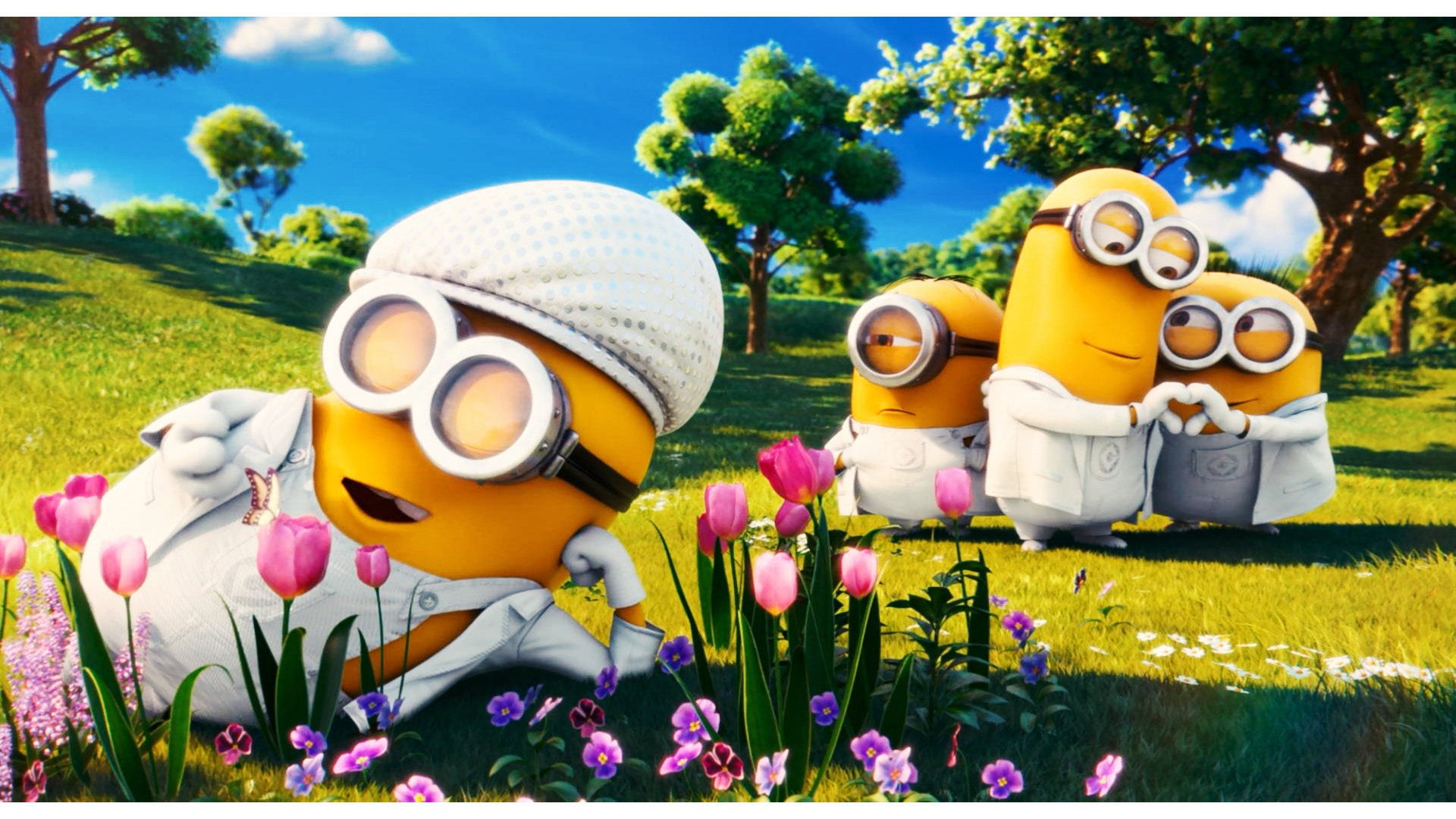 minioncornblob1 images minion looking cute!!! hd wallpaper and
