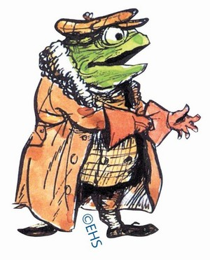 Mr Toad's image from the book