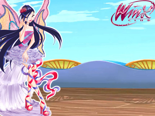 o clube das winx wallpaper probably with animê entitled Musa Harmonix