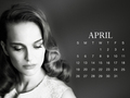 natalie-portman - NP.COM Calandar - April wallpaper