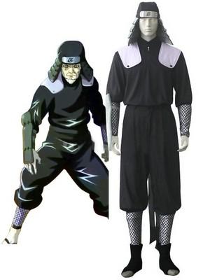 Naruto Hiruzen Sarutobi Uniform Cosplay Costume