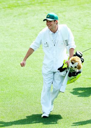 Niall caddies for Rory McIlroy