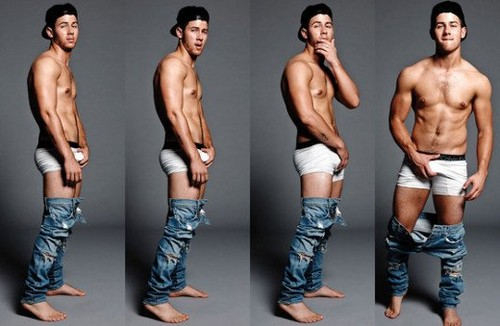 Nick Jonas karatasi la kupamba ukuta called Nick Jonas???