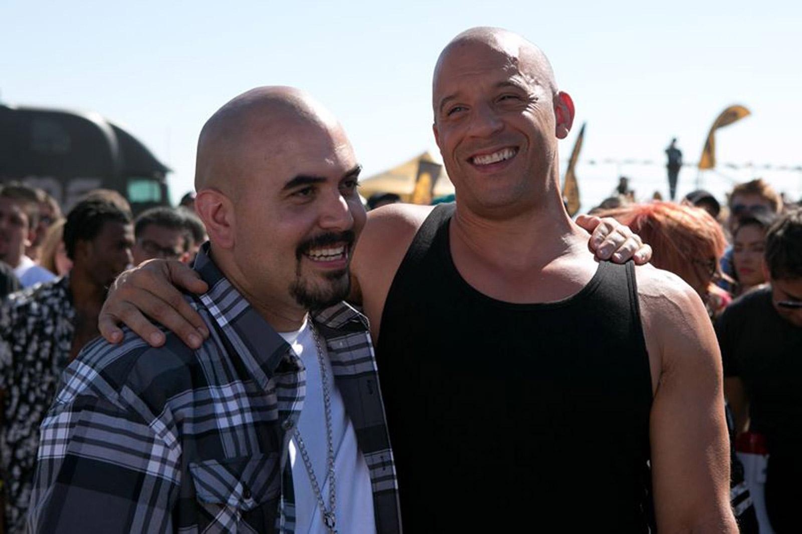 Noel Gugliemi images Noel G and Vin Diesel in Furious 7 HD ...