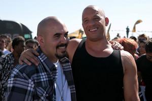 Noel G and Vin Diesel in Furious 7