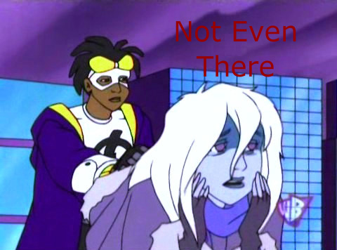 Static Shock wallpaper containing anime titled Not Even There