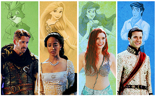 Once Upon A Time wallpaper titled OUAT and Disney Characters