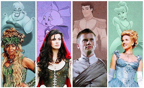 Once Upon a Time - Es war einmal... Hintergrund entitled OUAT and Disney Characters