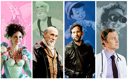 C'era una volta wallpaper with a business suit titled OUAT and Disney Characters