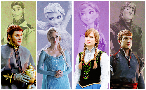 Once Upon A Time پیپر وال entitled OUAT and Disney Characters