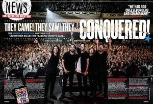 Of mice & men in Kerrang!