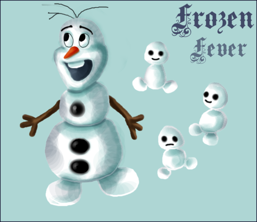 Frozen Fever Hintergrund called Olaf and Snowgies