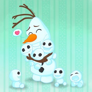 Olaf and Snowgies