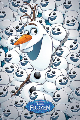 Frozen Fever Hintergrund titled Olaf and Snowgies