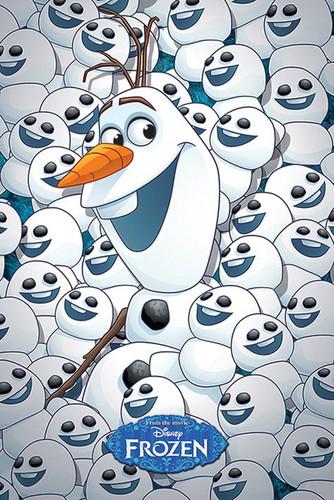 Frozen Fever Hintergrund called Olaf and Snowgies