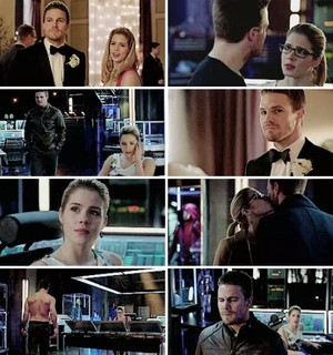Oliver and Felicity 3x17 <3