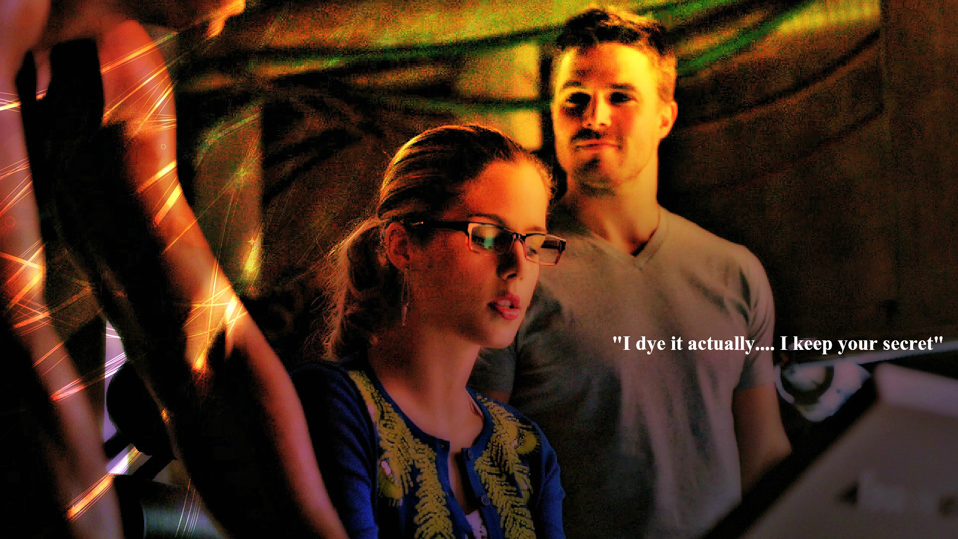 Oliver and Felicity hình nền