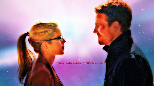 Oliver & Felicity Hintergrund possibly with a brunnen titled Oliver and Felicity Hintergrund