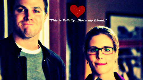 Oliver & Felicity Hintergrund probably containing a portrait titled Oliver and Felicity Hintergrund