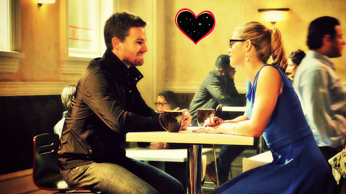 Oliver & Felicity achtergrond with a brasserie, a bistro, and a business suit called Oliver and Felicity achtergrond