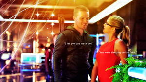 Oliver and Felicity wolpeyper