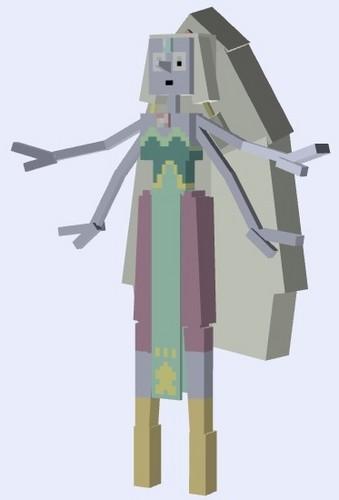 Steven Universe hình nền titled Opal - Minecraft