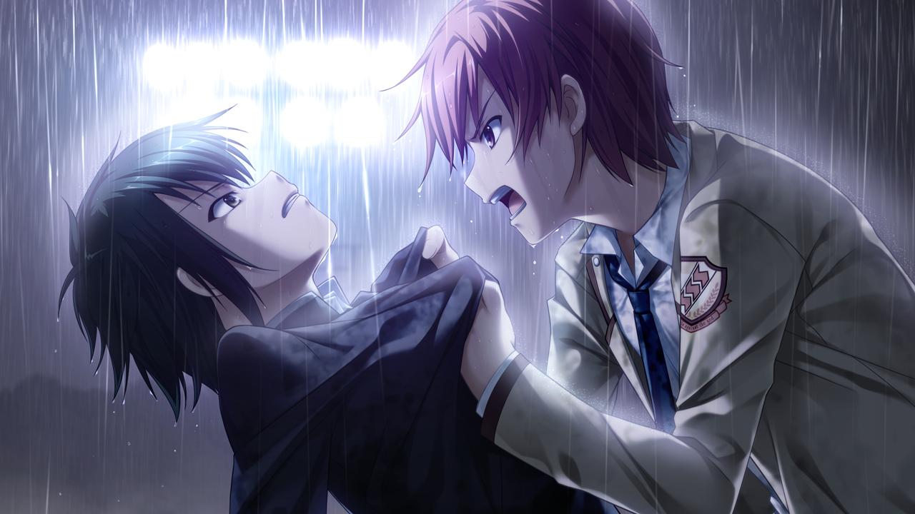 Otonashi Confronts Naoi - Angel Beats! Photo (38324984) - Fanpop