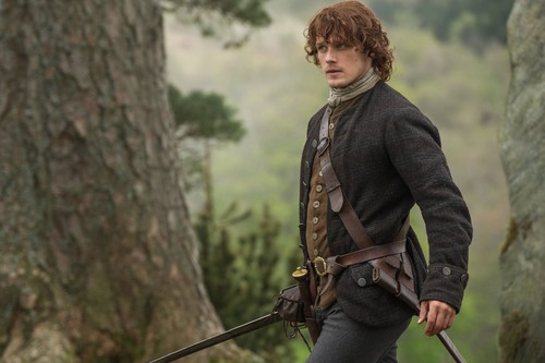 "Outlander 2014 TV Series پیپر وال titled Outlander ""The Devil's Mark"" (1x11) promotional picture"