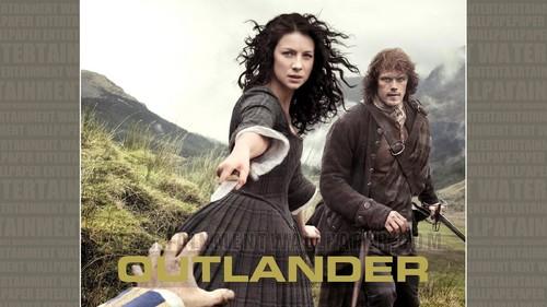Outlander 2014 TV Series karatasi la kupamba ukuta titled Outlander karatasi la kupamba ukuta