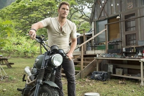 Jurassic World kertas dinding called Owen Grady