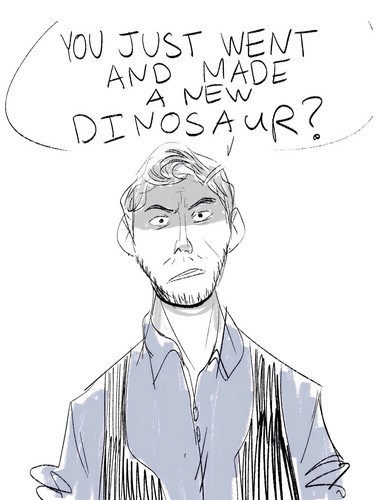 Jurassic World kertas dinding containing Anime titled Owen Grady
