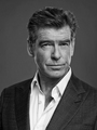 PIERCE BROSNAN BLACK AND WHITE