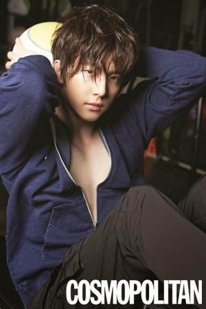 Park Sang Hyun (Cheondung) for Cosmopolitan