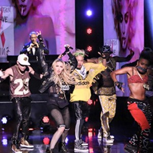 Performing Bich I'm Madonna at Jimmy Fallon's