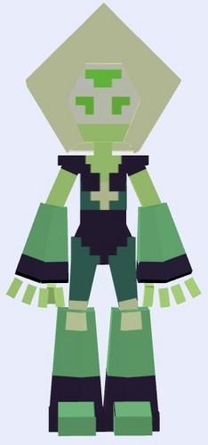 Steven Universe hình nền called Peridot - Minecraft