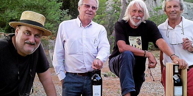 Pierre and wine