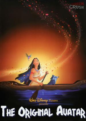 Walt Дисней Parody Posters - Pocahontas
