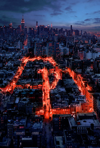 Daredevil (Netflix) 壁紙 with a business district called Poster Season One