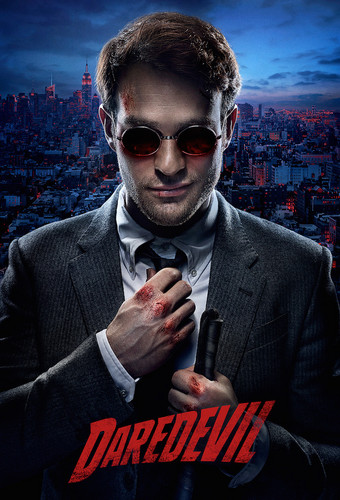 Daredevil (Netflix) 壁紙 with a business suit, a suit, and sunglasses entitled Poster Season One
