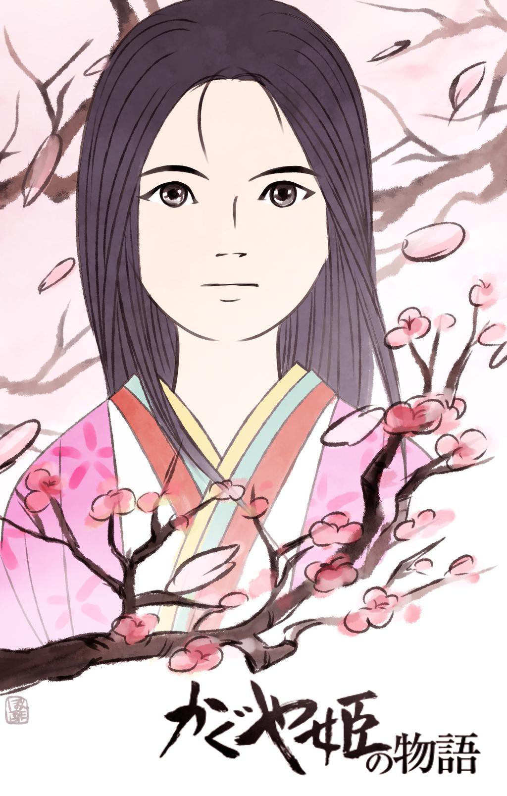 Princess Kaguya Studio Ghibli Fan Art 38374391 Fanpop
