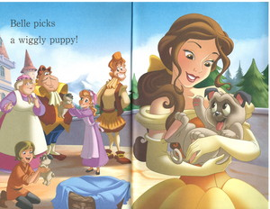Princesses and 子犬