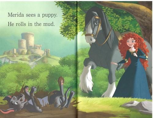 princesas de disney fondo de pantalla probably with a lippizan and a horse trail titled Princesses and cachorritos