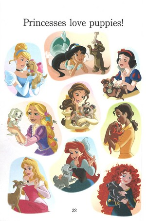 Princesses and cachorrinhos
