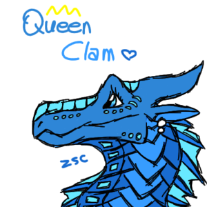 QueenClam made by ZzzSleepyCreeper
