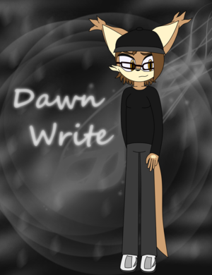 Quickly drawn pictures: Dawn (Mephiles97 Mobian Me)
